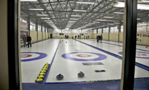 Try your hand at ice curling